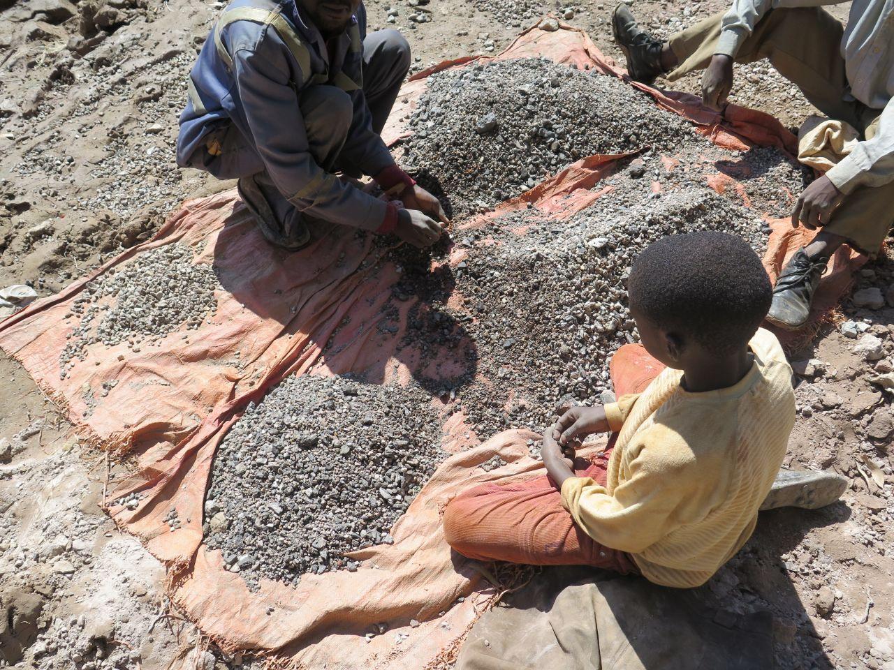 Kinderarbeit Kongo