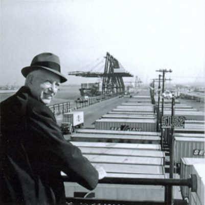 Malcom McLean, Erfinder des Containers