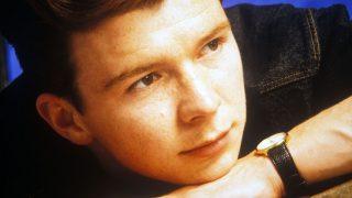 Rick Astely in jungen Jahren