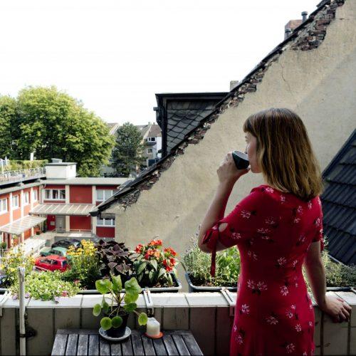 Urlaub auf dem eigenen Balkon