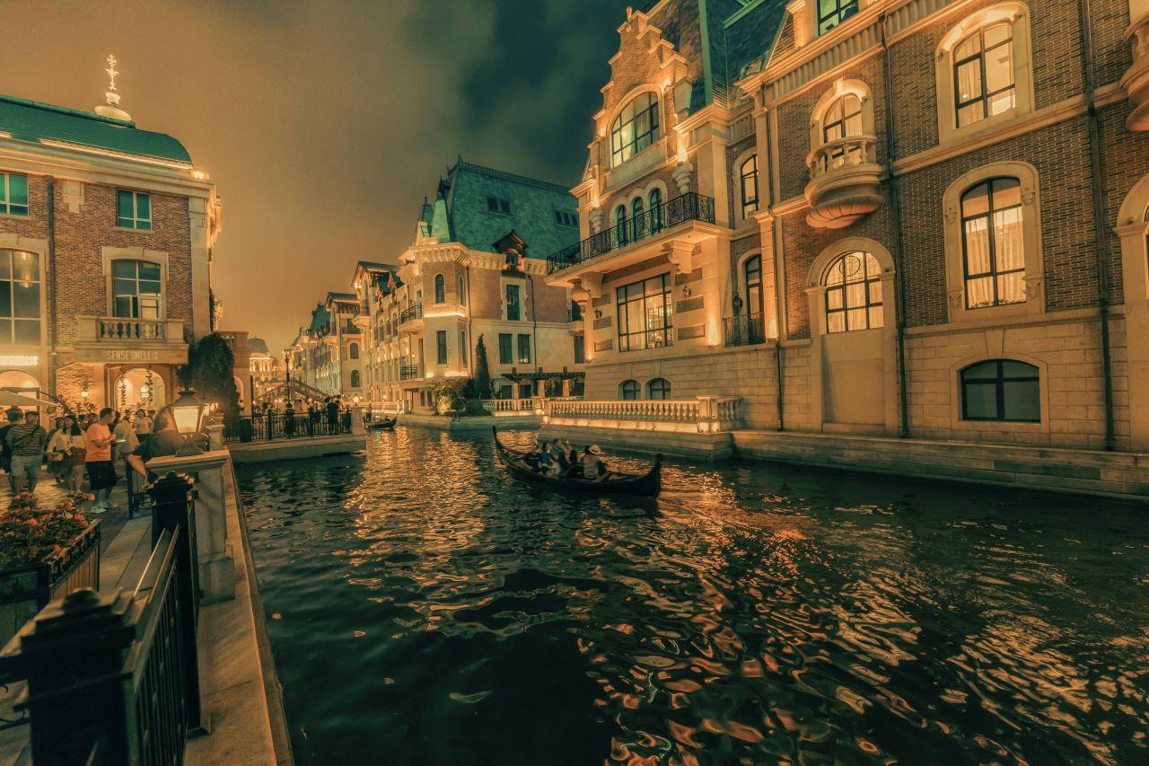 Chinas Kopie von Venedig