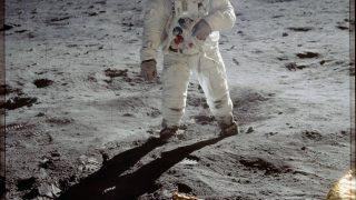 Verschwörung Mondlandung Buzz Aldrin