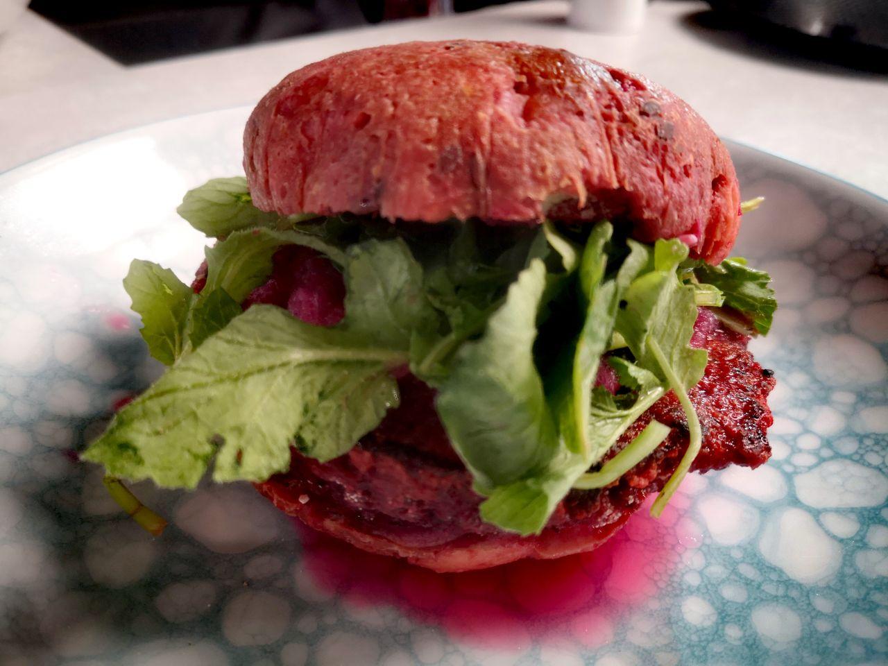 Zero Waste Burger Rote Beete