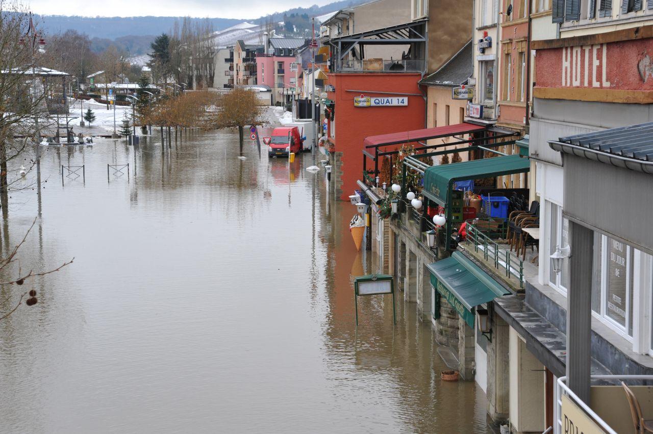 Hochwasser Remich