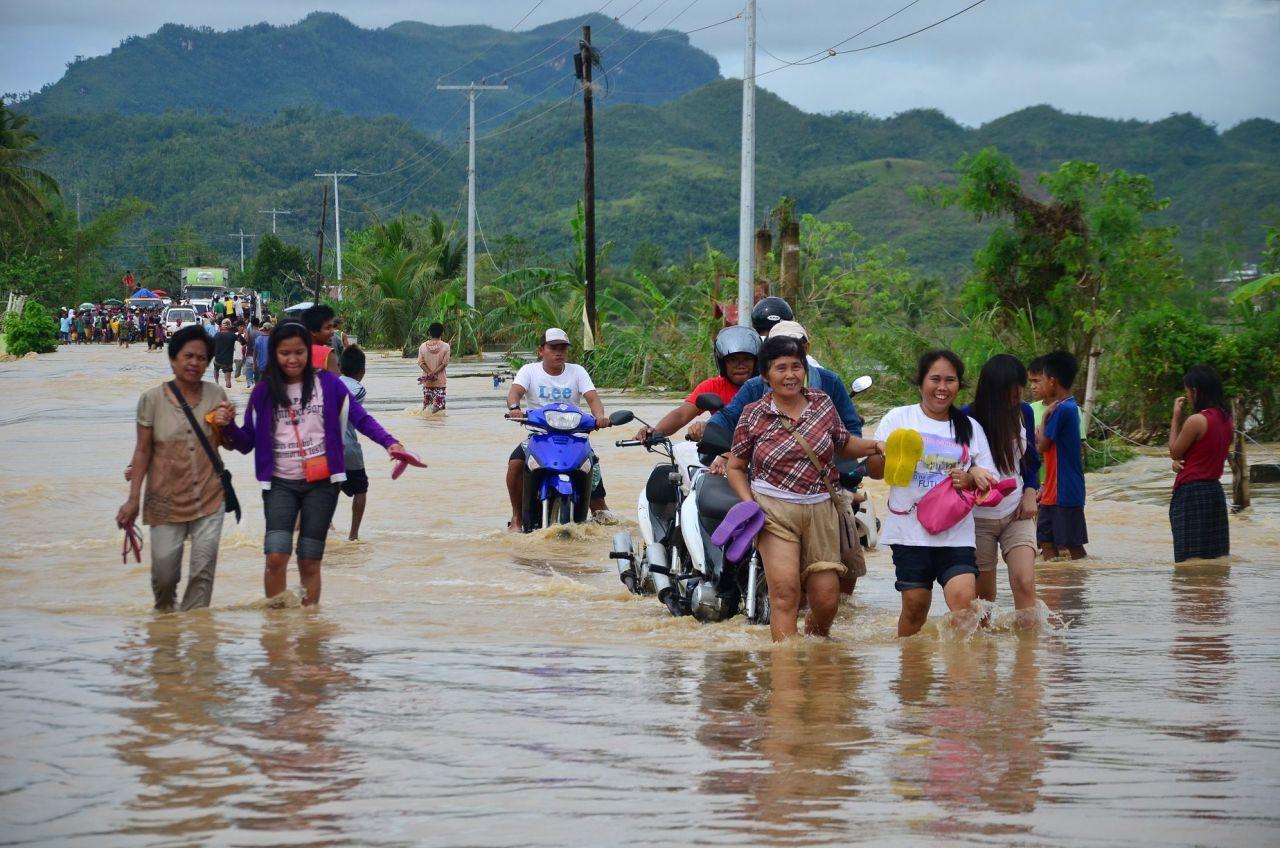 Hochwasser Philippinen