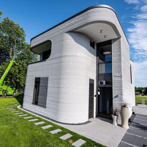 3D Haus gedruckt