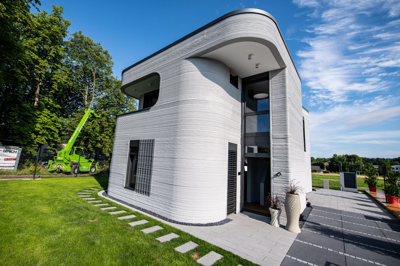Deutschlands erstes Haus aus dem 3D-Drucker ist fertig: Bauen wir so in Zukunft?