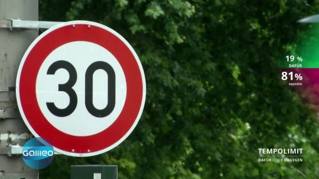 Dafür oder Dagegen: Tempolimit 30 in Großstädten?