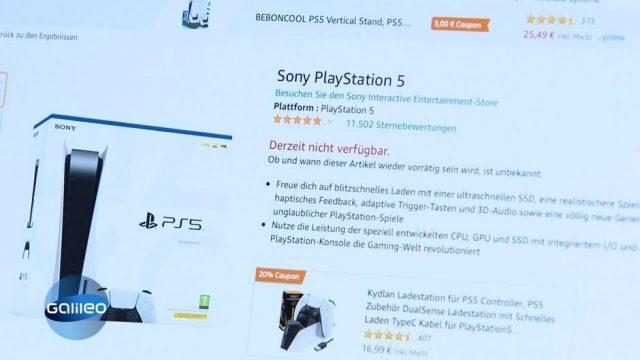 Warum PS5 und Co. immer ausverkauft sind - Kein Chip, kein Gaming!