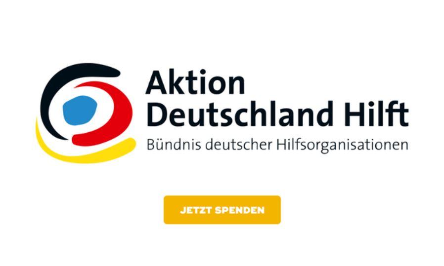 """""""Aktion Deutschland Hilft"""" ist mit seinen Hilfsorganisationen (insbesondere den Johannitern, den Maltesern und dem ASB) unmittelbar vor Ort, um den betroffenen Menschen zu helfen."""