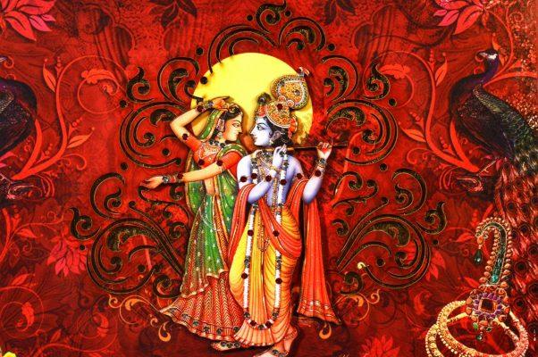 Krishna Gott der Hare-Krishna-Bewegung