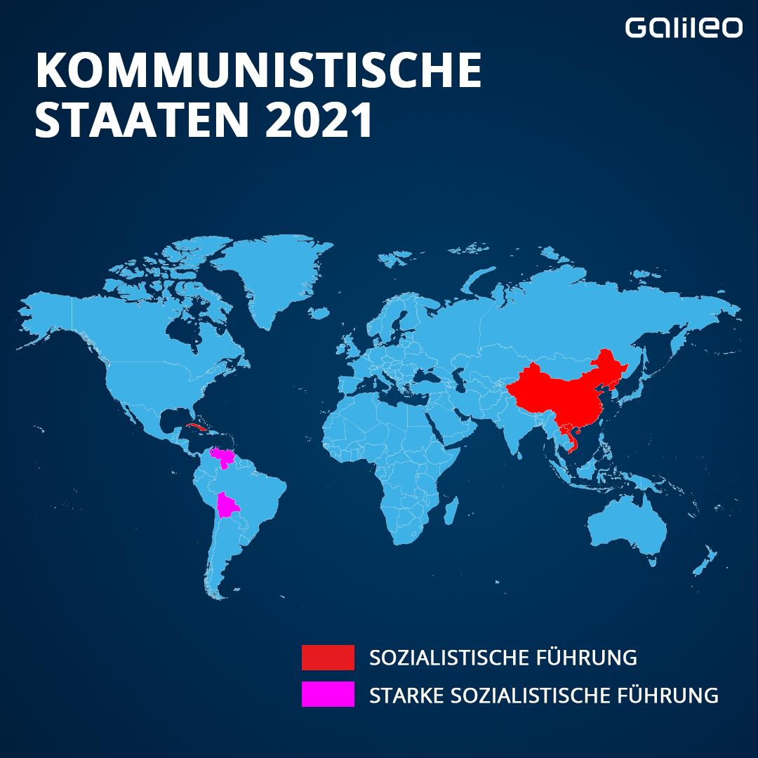 Kommunistische Staaten 2021