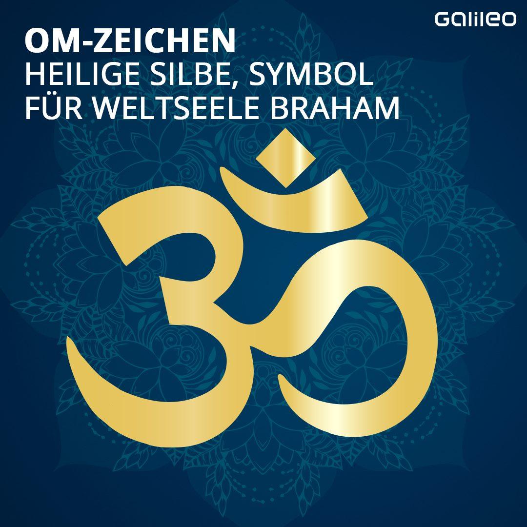 Hinduismus: Om-Zeichen