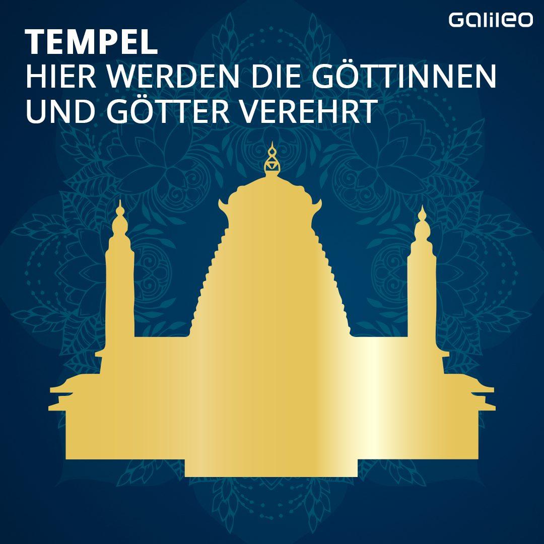 Hinduismus: Tempel-Symbol