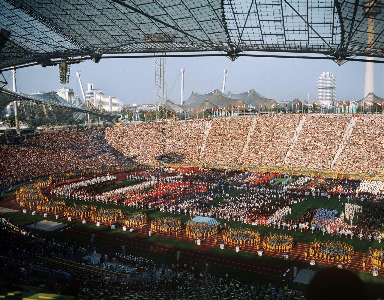 Olympische Spiele 1972 Eröffnungsfeier