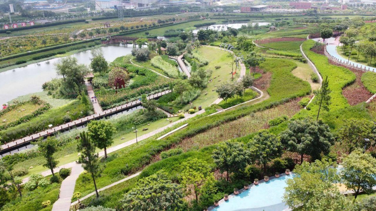 Sponge City in China Schwammstadt