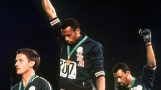 Black Power Olympische Spiele