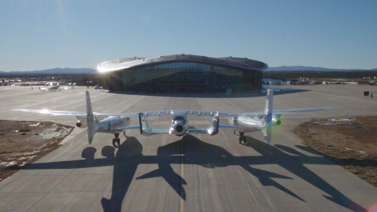 Spaceport America im US-Bundesstaat New Mexico