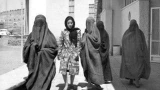 Afghanistan Frau westlich