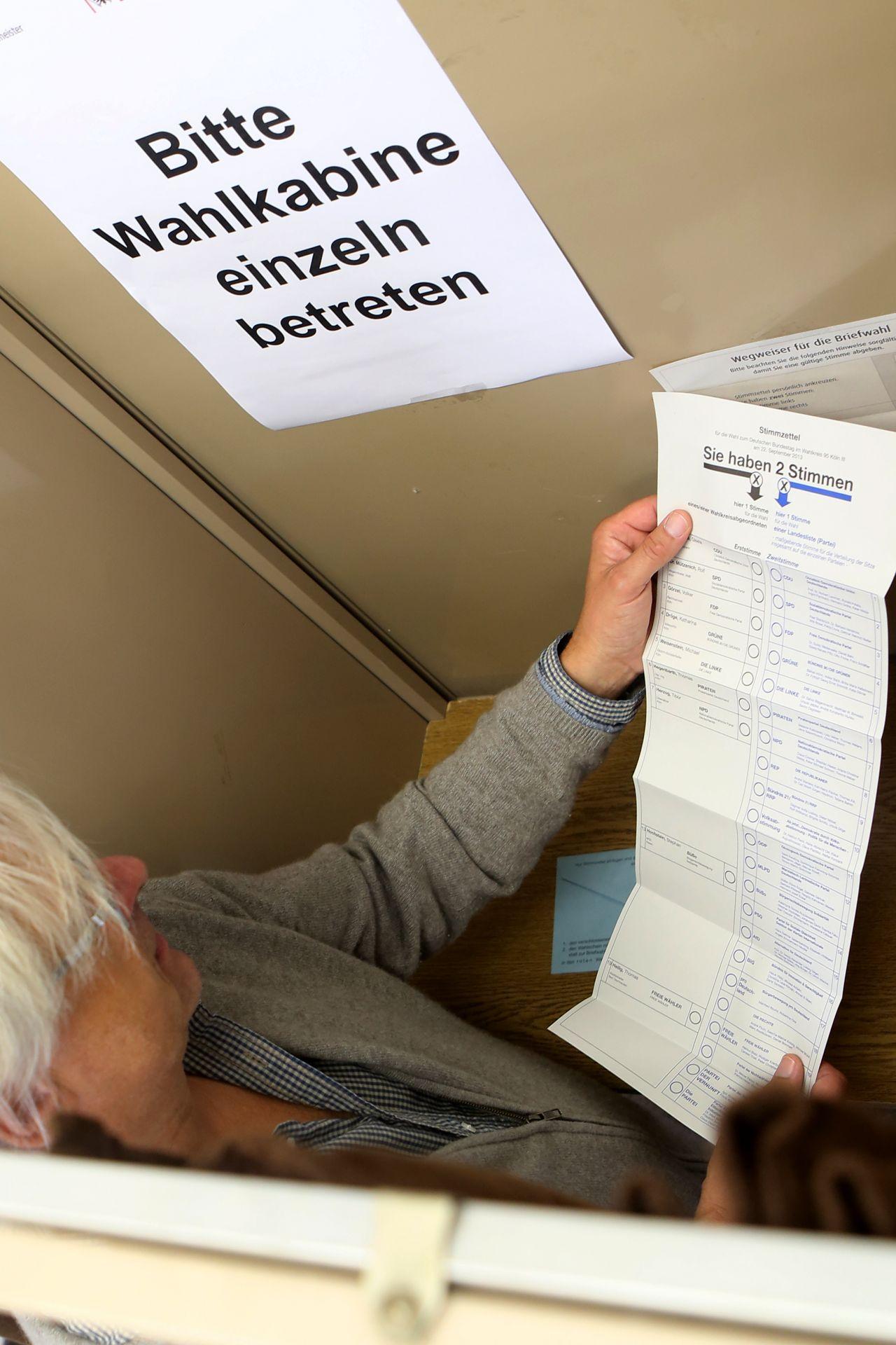 Warum soll ich bei der Bundestagswahl wählen gehen?