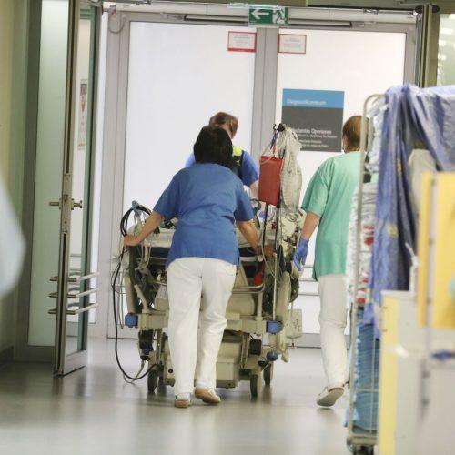 Coronapatient:in im Krankenhaus
