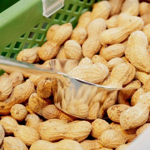 Erdnüsse mit Schale