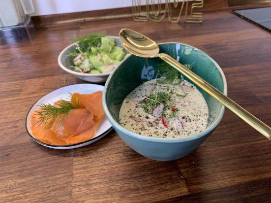 Gurken-Suppe Sommer