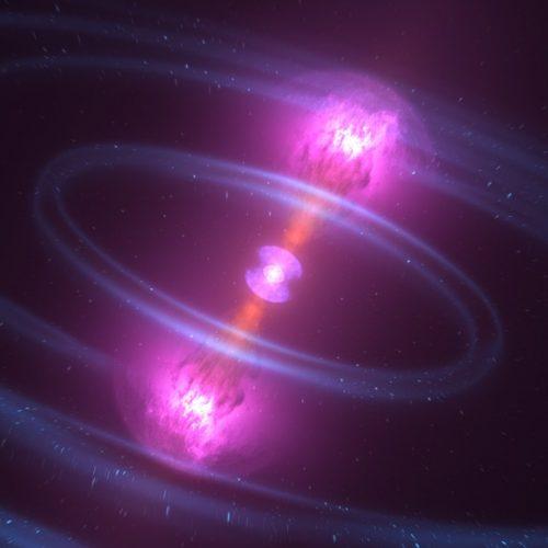 Ein Teil des Golds im Universum entsteht womöglich, wenn Neutronensterne zusammenstoßen