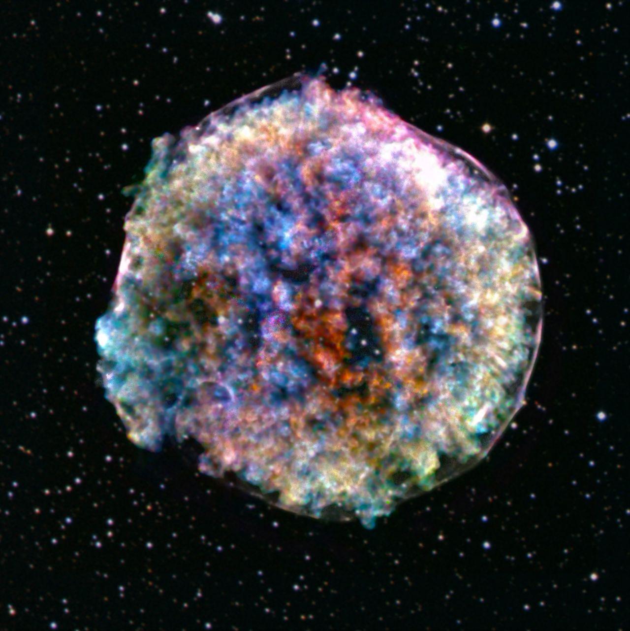 Die Tycho-Brahe Supernova