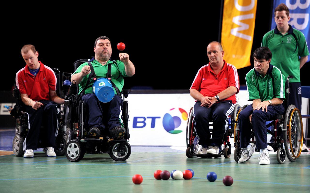 Paralympische Spiele - Boccia