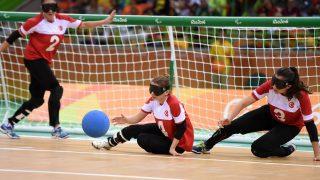 Paralympische Spiele - Goalball