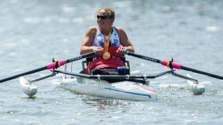 Paralympische Spiele - Auslegerkanu
