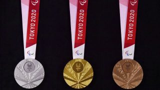 Paralympics Medaille