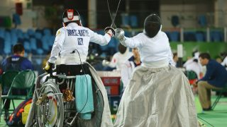Paralympische Spiele - Fechten