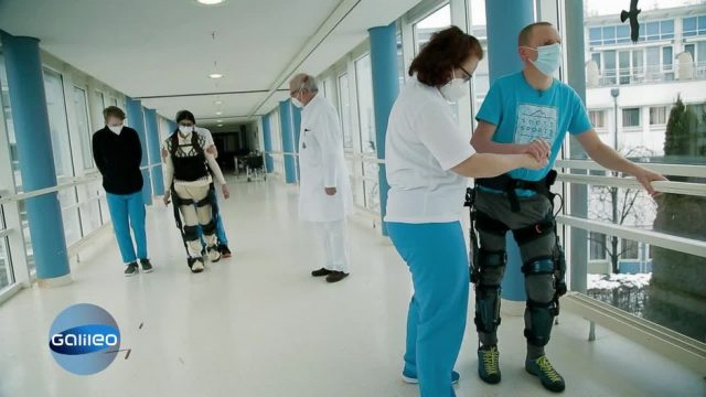 Neue Exo-Skelette ermöglichen das Gehen trotz Querschnittslähmung