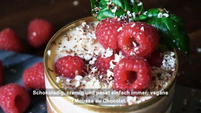 Vegane Mousse au Chocolat: So gelingt dir der französische Klassiker