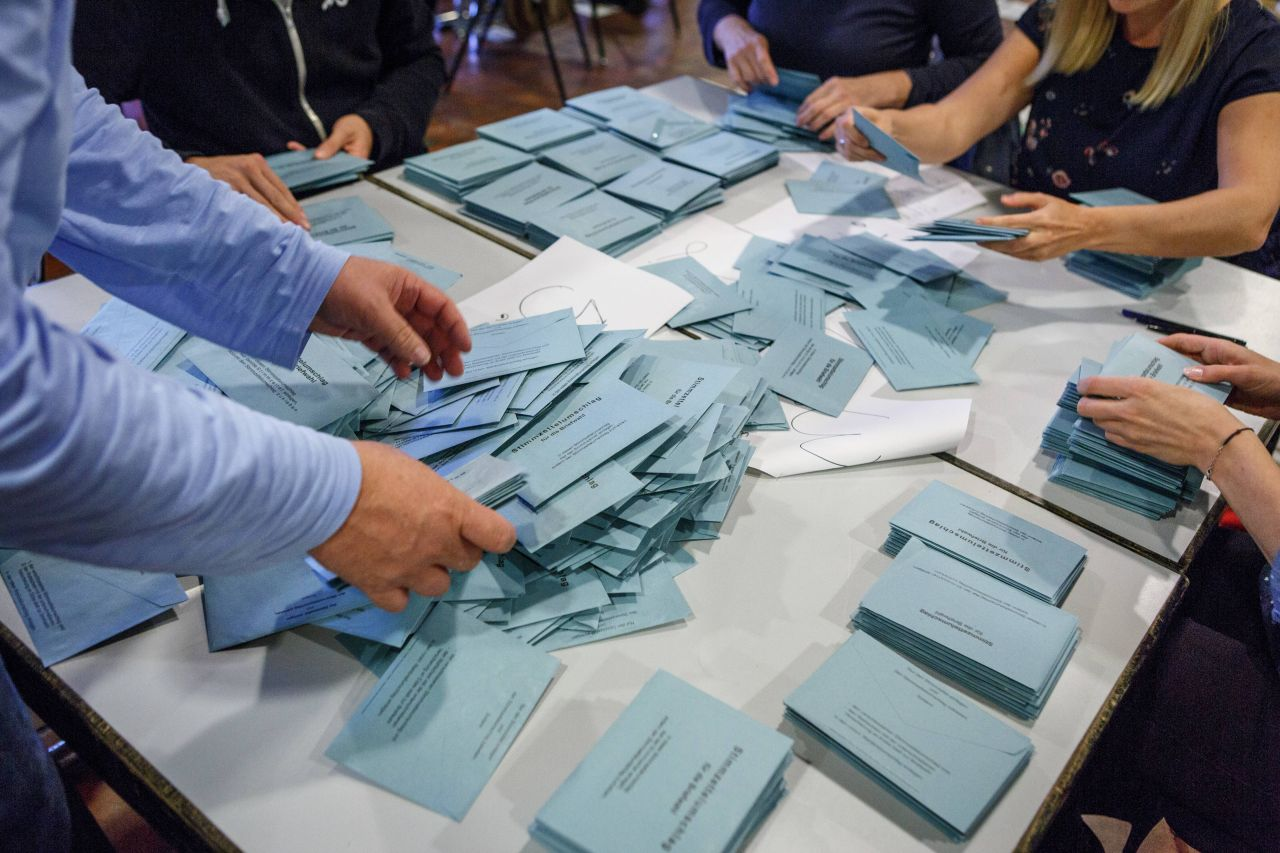 Bundestagswahl Auszählung
