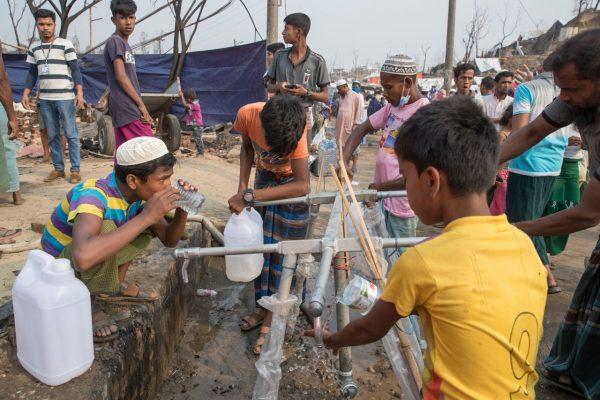 Choleraausbruch in Flüchtlingslager