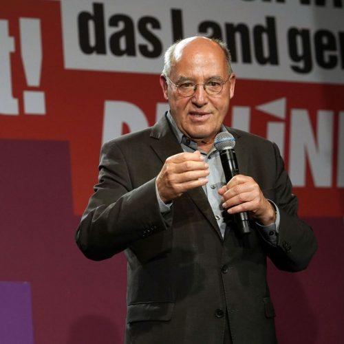 Gregor Gysi holte für die Linke ein Direktmandat.