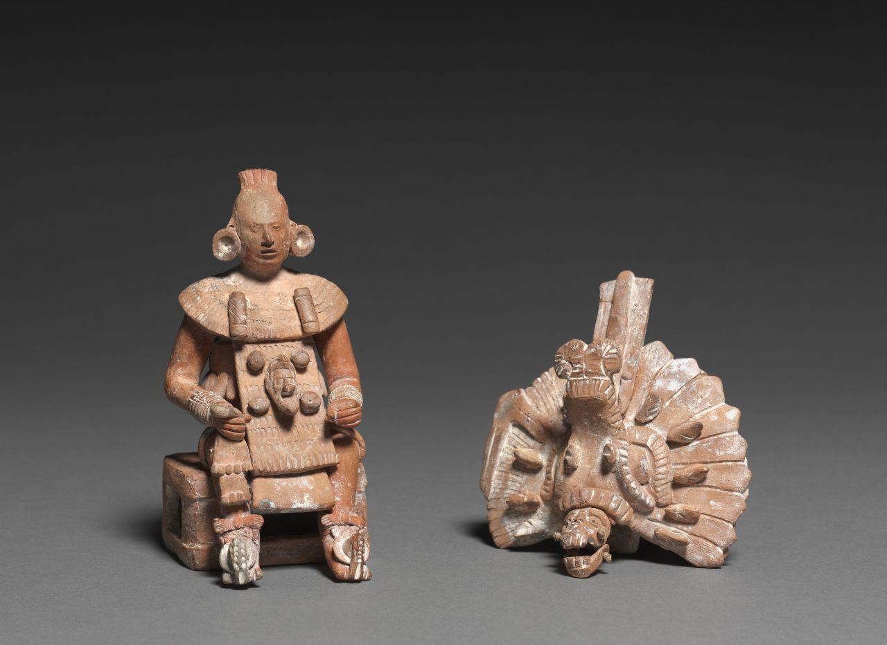 Maya - Artefakt - Statue