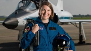 NASA-Astronautin Kayla Barron - Co-Astronautin von Matthias Maurer