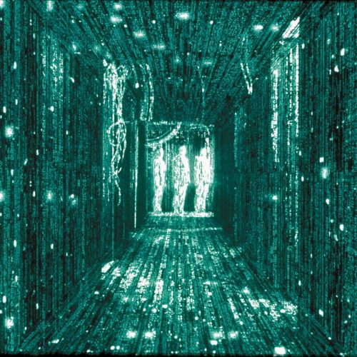 Falling Code in der Matrix