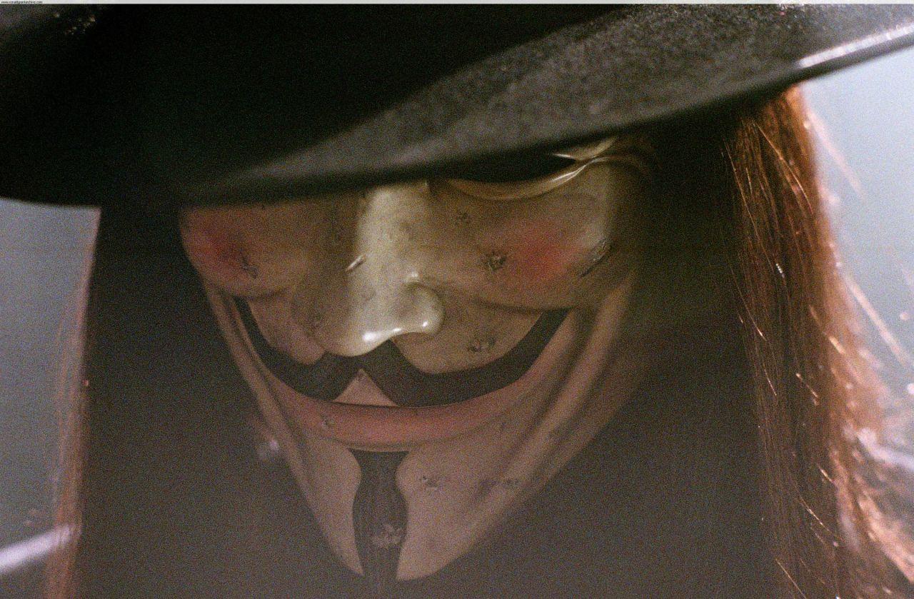 """Szene aus """"V for Vendetta"""""""