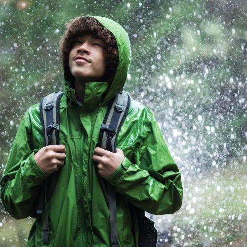 Regen hat eine besonderen Geruch.