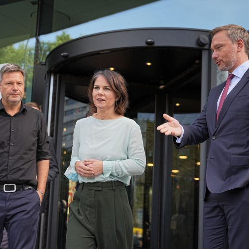 Sondierungsgespräche zwischen Grünen und FDP