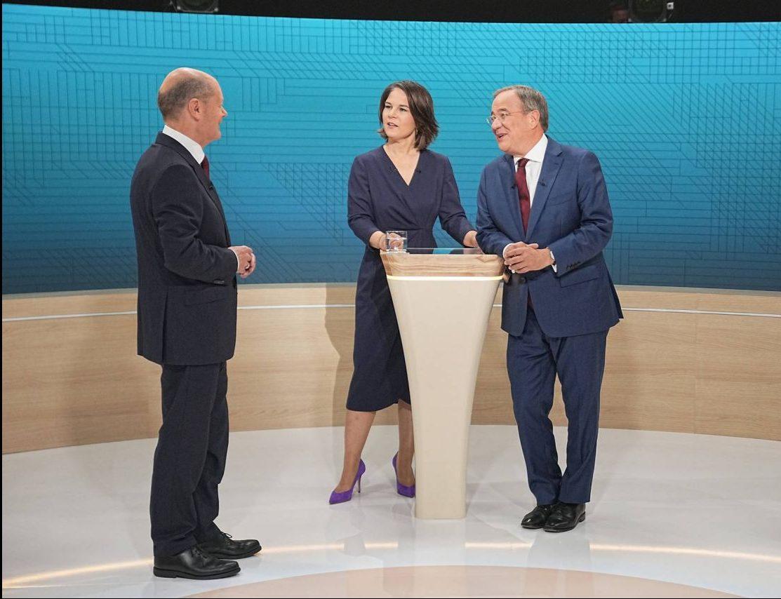 Das finale Triell zur Bundestagswahl 2021 live im TV und Livestream