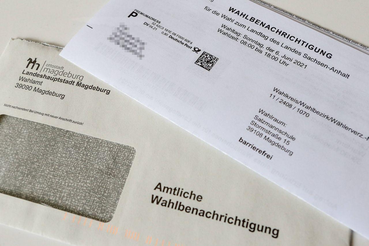 Wahlbenachrichtigung Bundestagswahl 2021