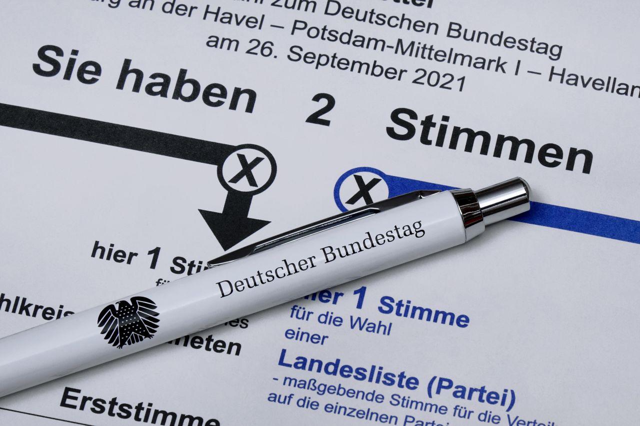 Bundestagswahl 2021: Mit welchem Stift darf man heute sein Kreuzchen machen?