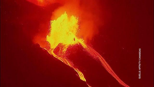 Der Vulkan Cumbre Vieja und wie eine Oma einen Dieb überwältigt in unseren Clips der Woche