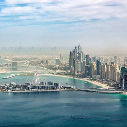 Hauptstadt des Emirats Dubai